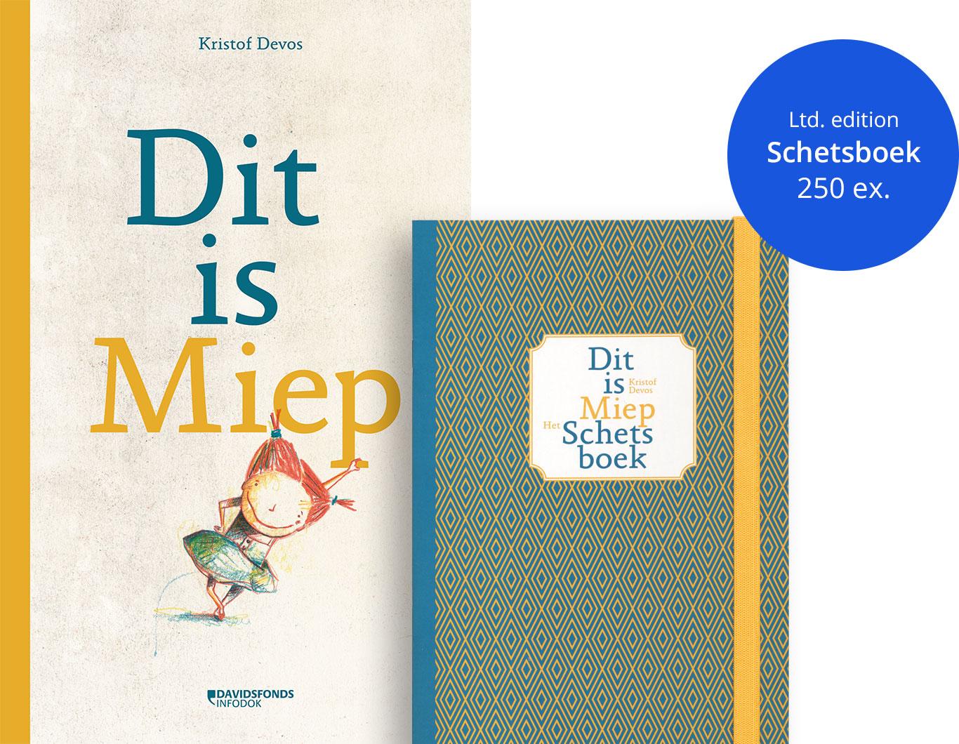 Dit is Miep + schetsboek