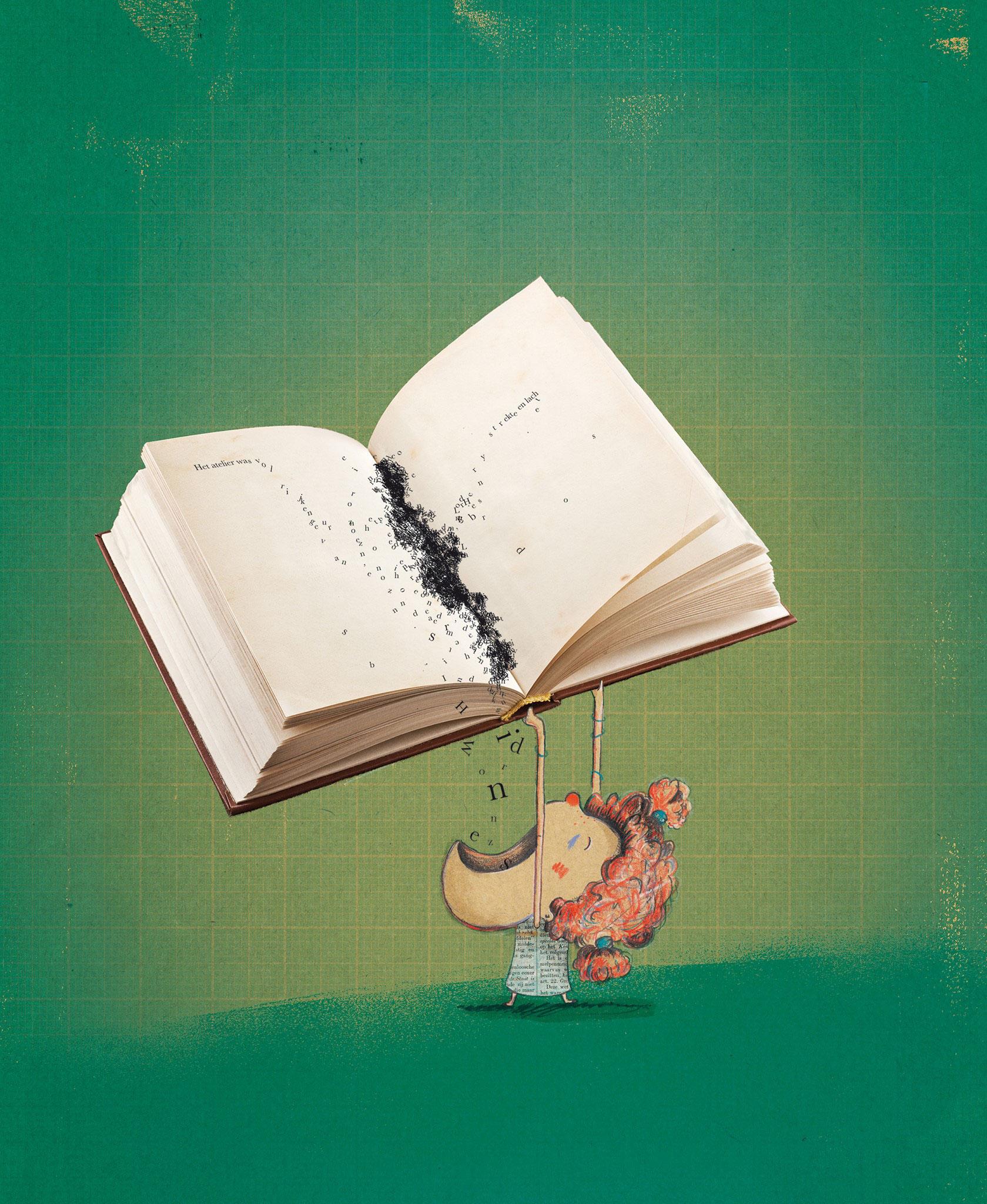 De 'Letterfretter' door illustrator Kristof Devos