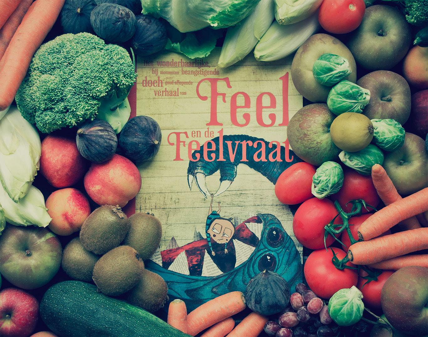 Cover van Feel en de Feelvraat