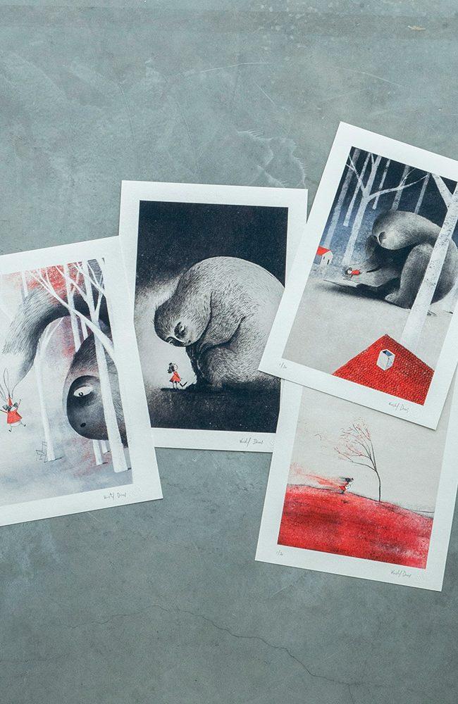 Een nieuwe collectie illustraties