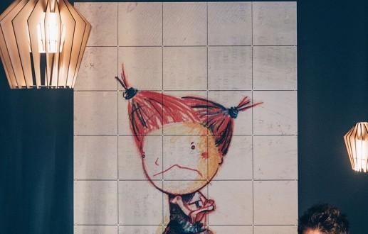 Illustrator Kristof Devos bij Miep