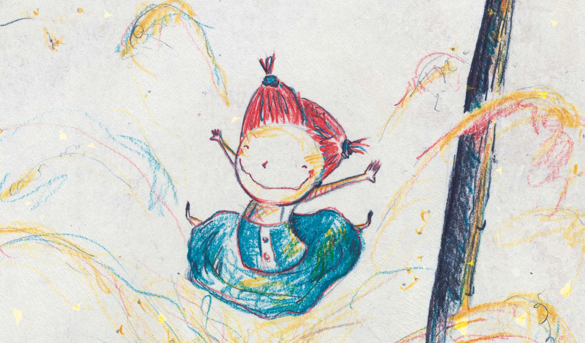 Illustratie uit Dit is Miep van Kristof Devos