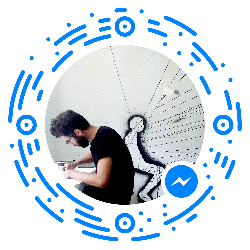 Contacteer me via Facebook messenger