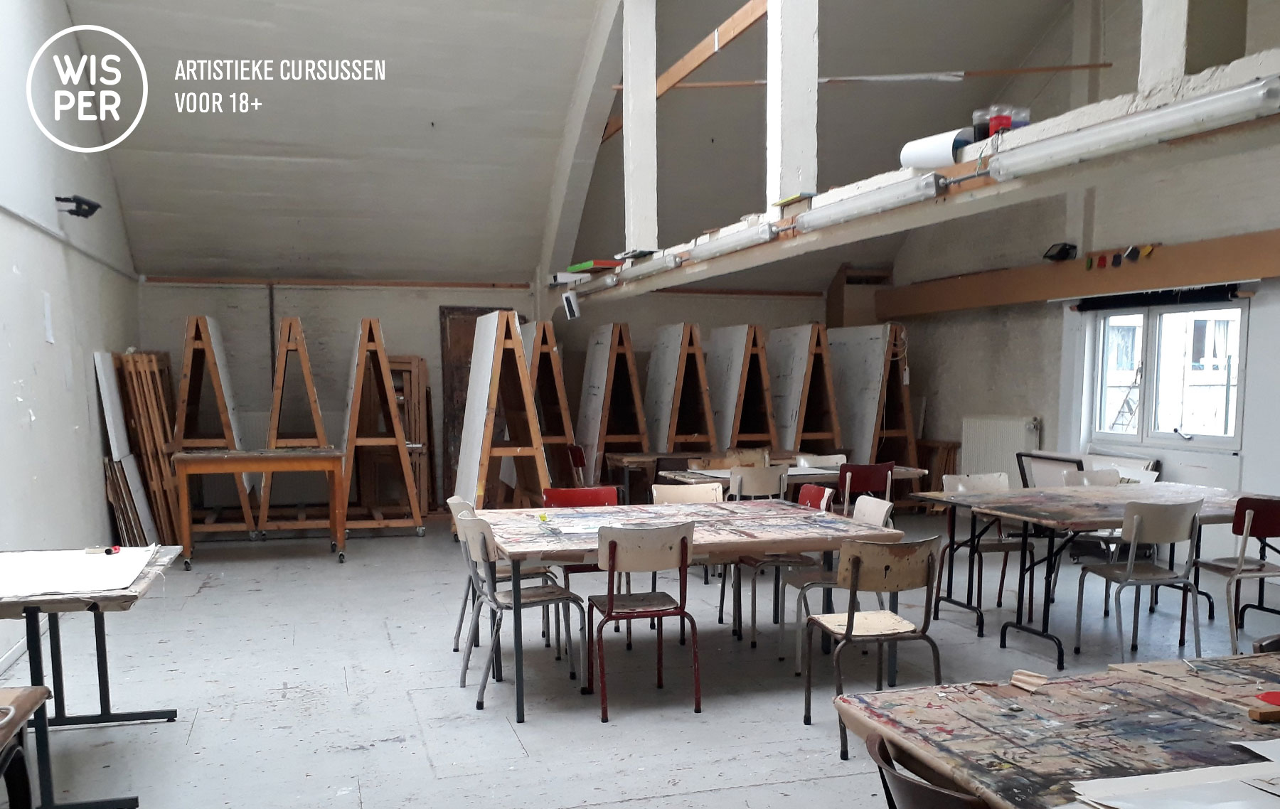Atelier in Wisper Warande Gent