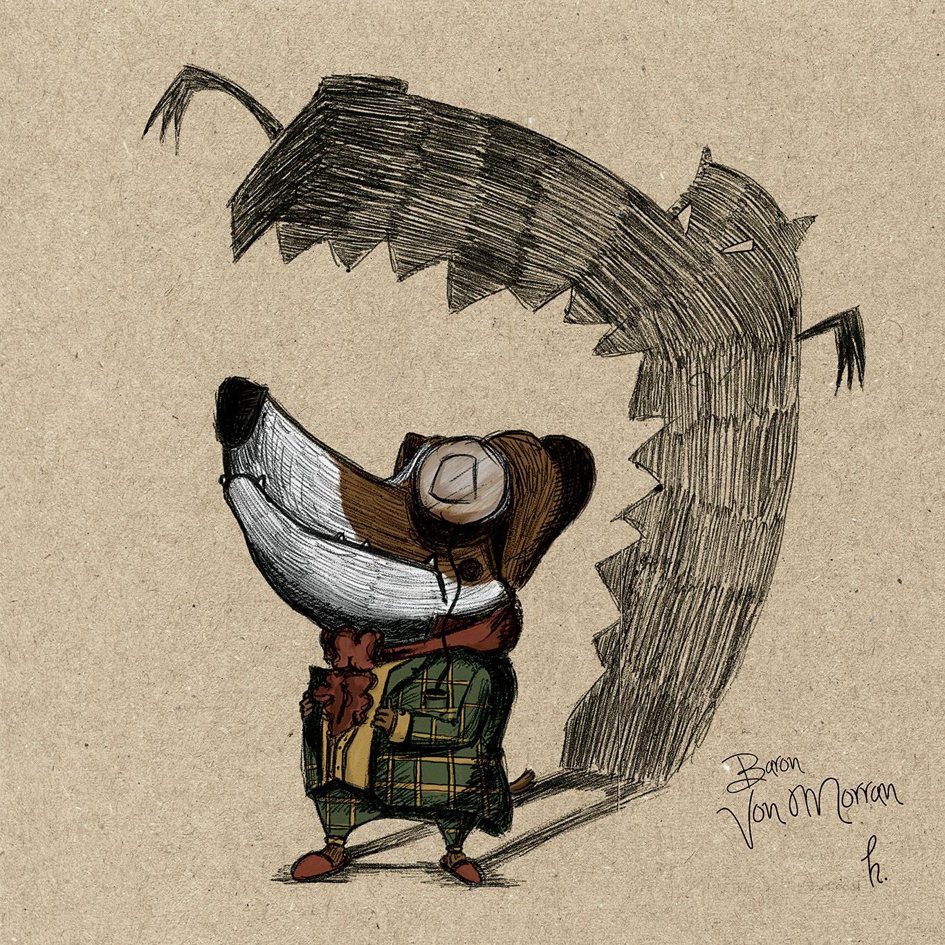 Illustratie uit The Morran Book
