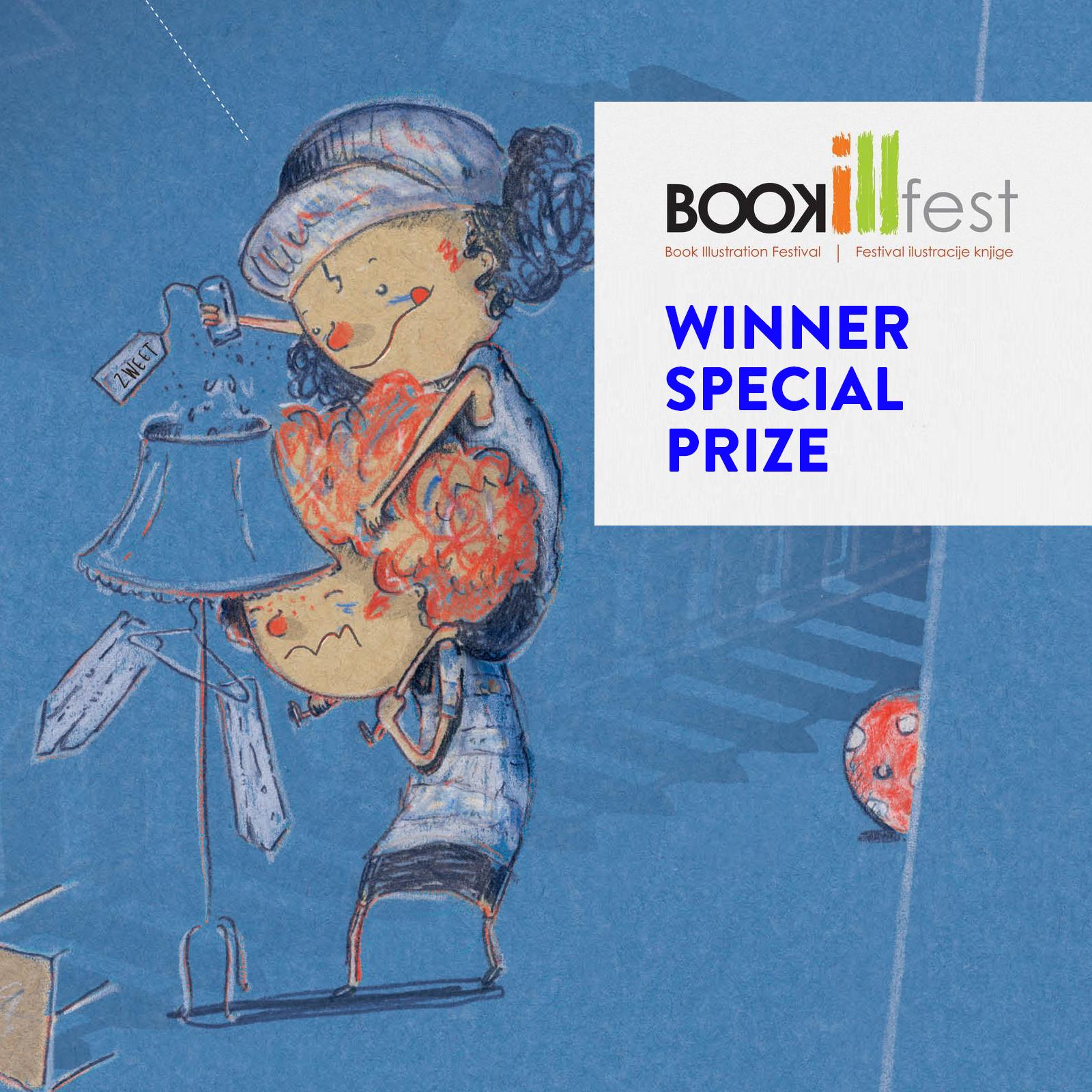 Special Prize BookIll Fest voor de illustraties van Max maakt een vriend